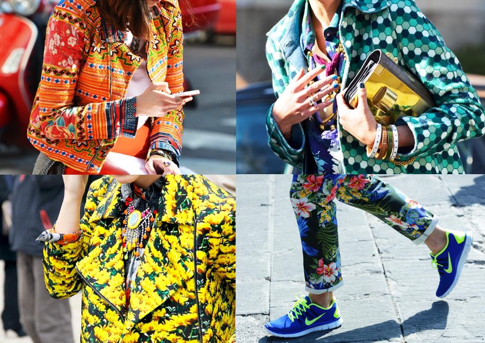 färg och mönster